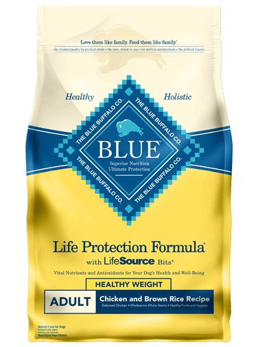 Blue Buffalo Blue Buffalo Chicken & Brown Healthy Weight Adult Dog Food 15 Lb.
