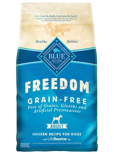 Blue Buffalo Blue Buffalo Freedom Grain Free Chicken Recipe Adult Dog Food 24 Lb.