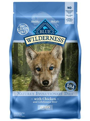 Blue Buffalo Blue Buffalo Wilderness Chicken Dry Puppy Food 24 Lb.