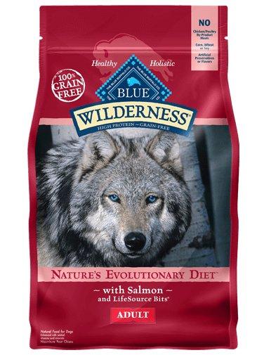 Blue Buffalo Blue Buffalo Wilderness Salmon Adult Dry Dog Food 24 Lb.