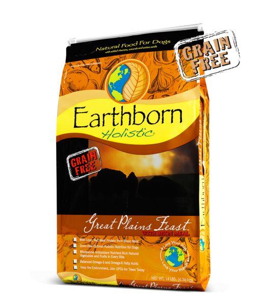 Earthborn Earthborn Holistic Great Plains Feast Grain-Free Dry Dog Food 14 Lb.