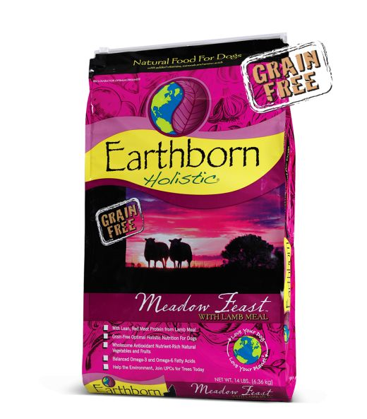 Earthborn Earthborn Holistic Meadow Feast Grain-Free Dog Food 14 Lb.