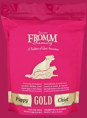 Fromm Family Foods Fromm Gold Dry Puppy Food 4/5 Lb.
