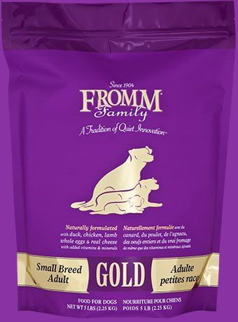 Fromm Family Foods Fromm Gold Small Breed Adult Dry Dog Food 4/5 Lb.