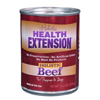 Health Extension Health Extension Can Beef Dog Food  24/5.5oz