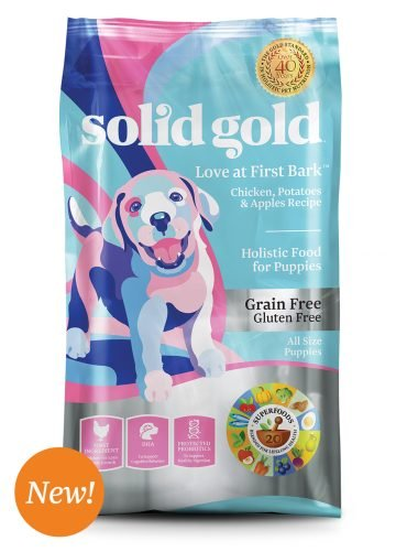 Solid Gold Solid Gold Love At First Bark Chicken, Sweet Potato & Apple Grain Free Dry Puppy Food 24 Lb.