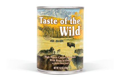 Taste Of The Wild Taste of the Wild High Prairie Venison and Bison Canned Dog Food 12/13.2oz