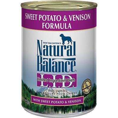 Natural Balance Natural Balance L.I.D. Venison & Sweet Potato Canned Dog Food 13oz