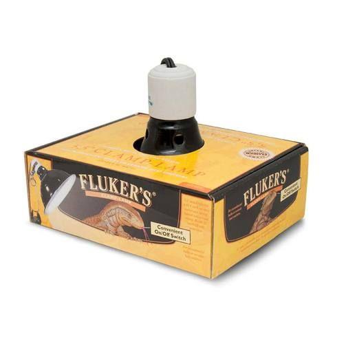 "Fluker Farms Fluker's Repta Clamp Lamp 10"" W/ Switch"
