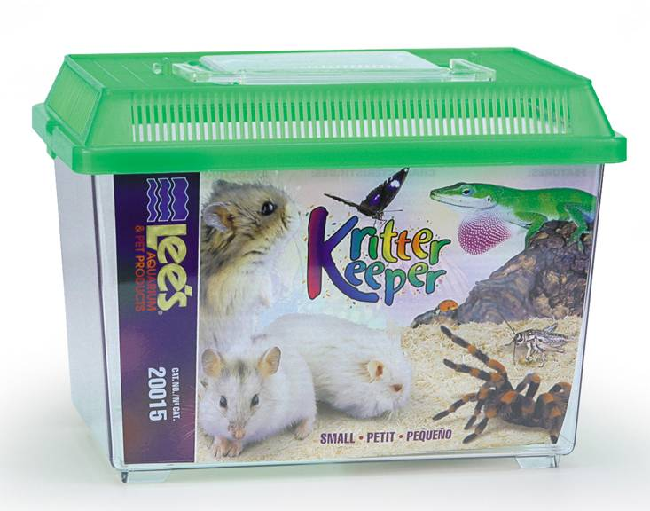 Lees Lee's Kritter Keeper Small Rectangle with Lid