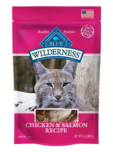 Blue Buffalo Blue Buffalo Wilderness Chicken & Salmon Grain Free Cat Treats 2oz