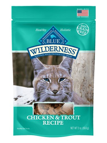Blue Buffalo Blue Buffalo Wilderness Cat Treats Grain Free Chicken & Trout 2oz