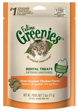 Greenies Greenies Feline Dental Treats Roasted Chicken 2.5oz