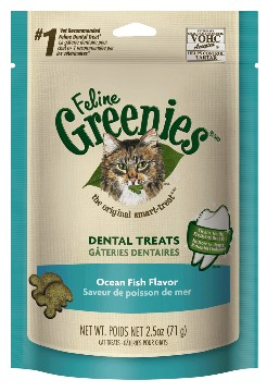 Greenies Greenies Feline Dental Treats Oceanfish 5.5oz