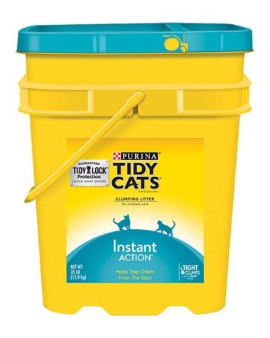 Tidy Cat Tidy Cats Instant Action Cat Litter 35 Lb. Pail