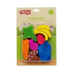 Hagen Hagen Living World Nibblers Wood Chews Fruit/Veggie Mix