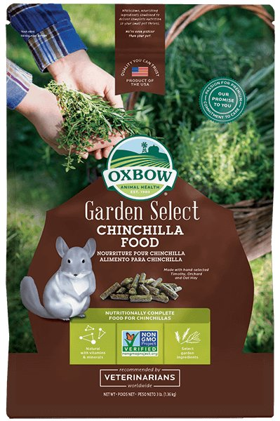 Oxbow Pet Products Oxbow Garden Select Chinchilla Food 3 Lb.