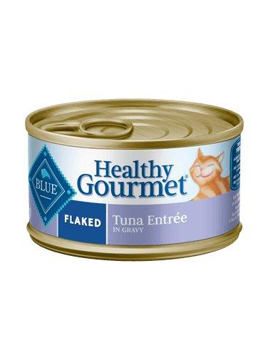 Blue Buffalo Blue Buffalo Healthy Gourmet Adult Flaked Tuna Canned Cat Food 24/5.5oz