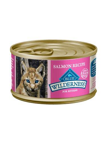 Blue Buffalo Blue Buffalo Wilderness Grain-Free Salmon Canned Kitten Food 24/3oz