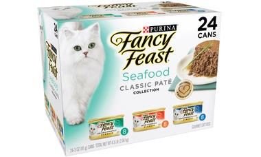 Fancy Feast Fancy Feast Seafood Feast Variety Classic Wet Cat Food 24/3oz