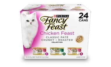 Fancy Feast Fancy Feast Gourmet Chicken Feast Variety Pack Adult Canned Cat Food 24/3oz