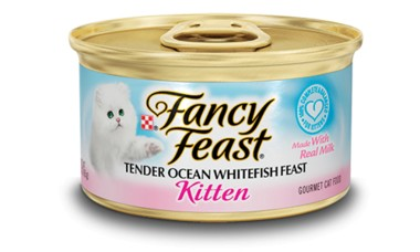 Fancy Feast Fancy Feast Tender Whitefish Feast Canned Kitten Food 24/3oz
