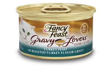 Fancy Feast Fancy Feast Gravy Lovers Turkey Canned Cat Food 24/3oz