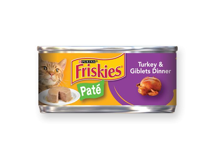 Friskies Friskies Turkey & Giblets Classic Pate Canned Cat Food  24/5.5oz