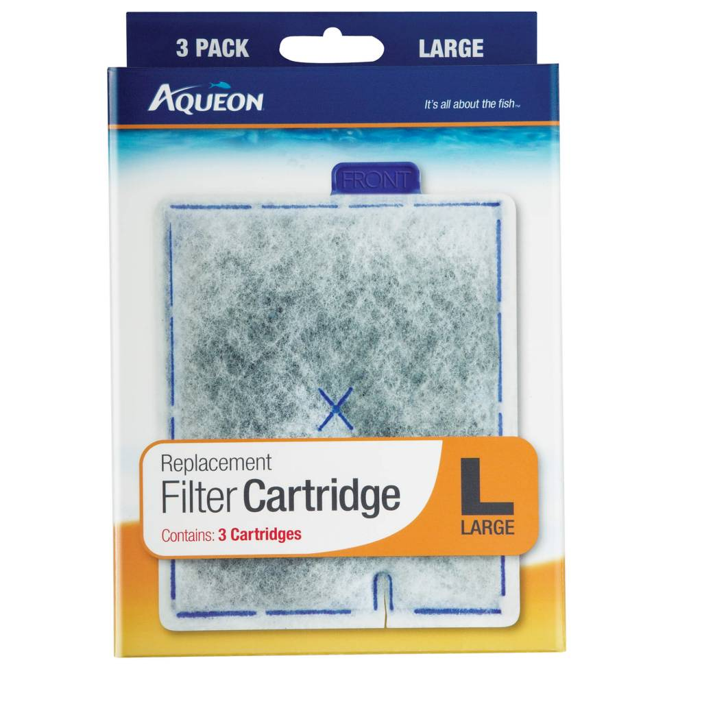 Aqueon Aqueon Filter Cartridge Large 3pk