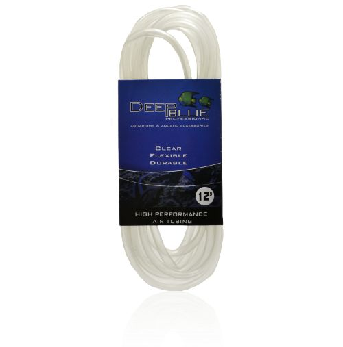 Deep Blue Flexible Clear Airline Tubing 12 Ft