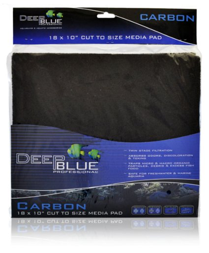 Deep Blue Deep Blue Activated Carbon Pad 18x10""