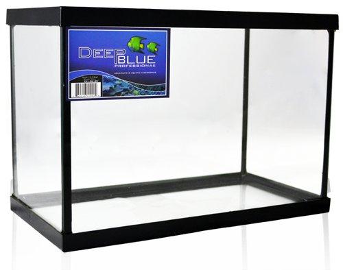 """Deep Blue Professional Glass Standard Aquarium Tank 2.5-Gallon 12x6x8"""""""