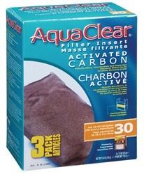 Hagen Hagen AquaClear 30 Activated Carbon Filter Insert 3pk