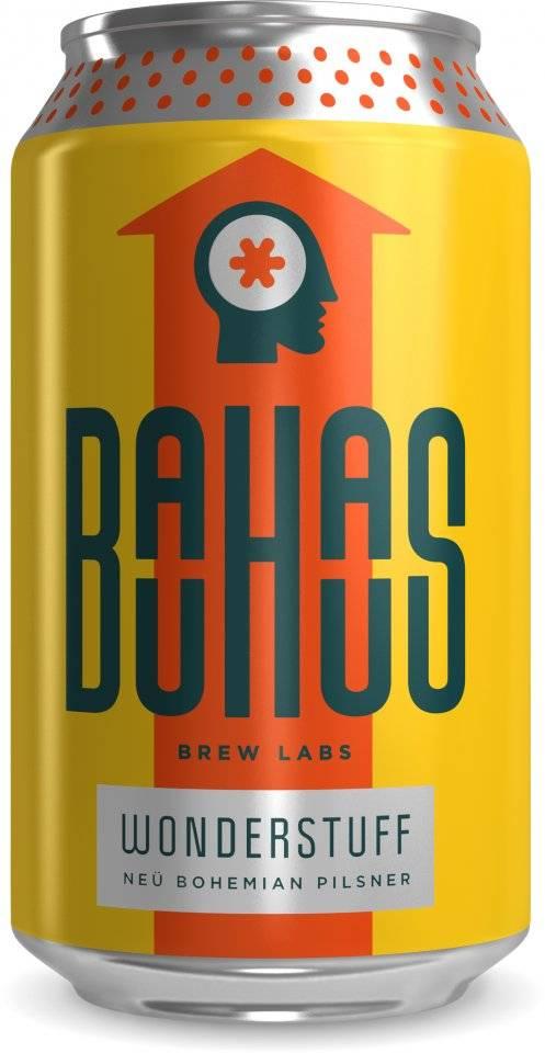Bauhaus Brew Labs BAUHAUS WONDERSTUFF PILSNER 6 PK CANS