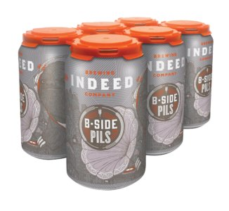 Indeed Brewing Co. INDEED B SIDE PILS LAGER 6 PK CAN