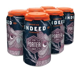 Indeed Brewing Co. INDEED STIR CRAZY PORTER 6 PK CAN