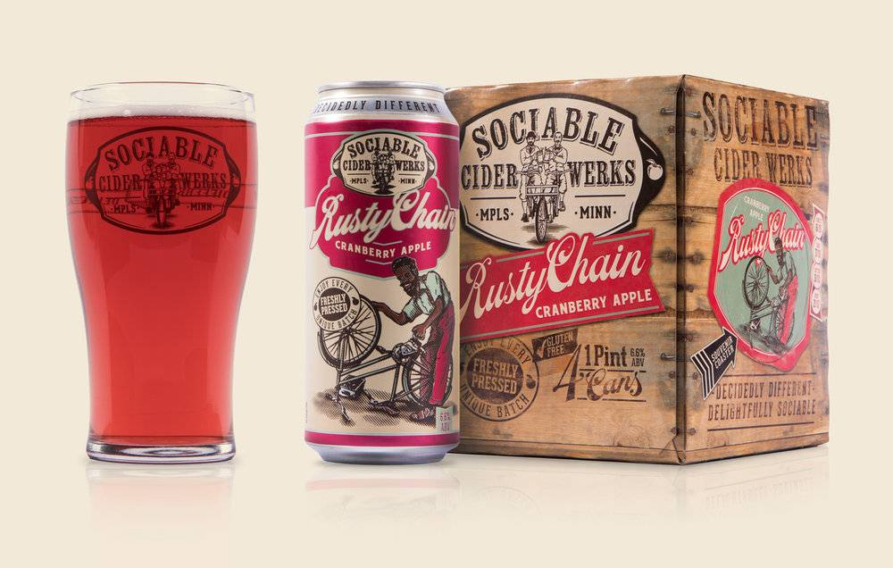 SOCIABLE CIDER WERKS RUSTY CHAIN 4 PK CAN