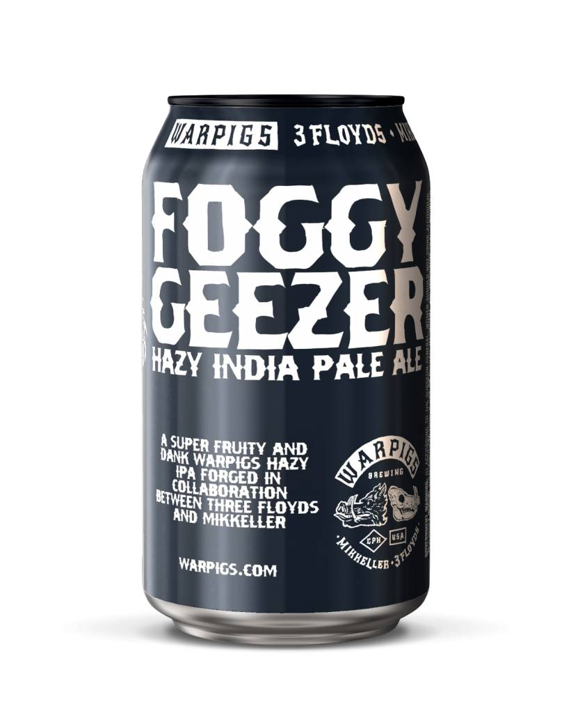 Warpigs Brewing WARPIGS FOGGY GEEZER HAZY IPA 6 PK CAN