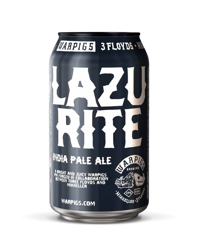 Warpigs Brewing WARPIGS LAZURITE IPA 6 PK CAN