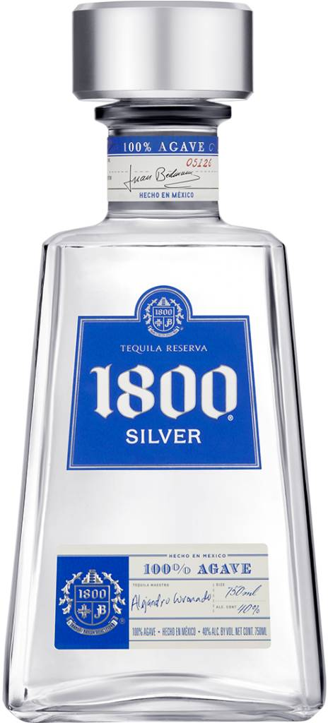 1800 SILVER TEQUILA LITER