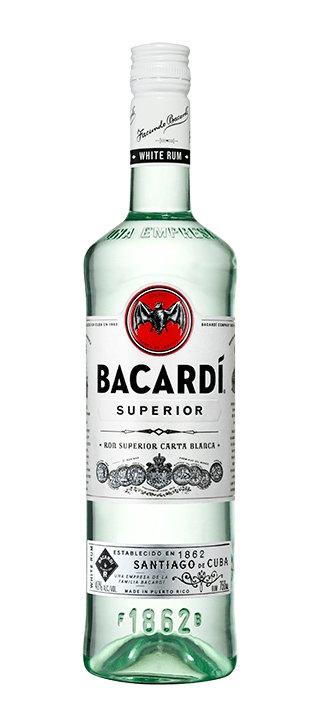BACARDI SUPERIOR RUM 200ML