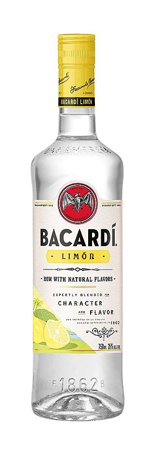 BACARDI LIMON CITRUS RUM 1.75 LITER