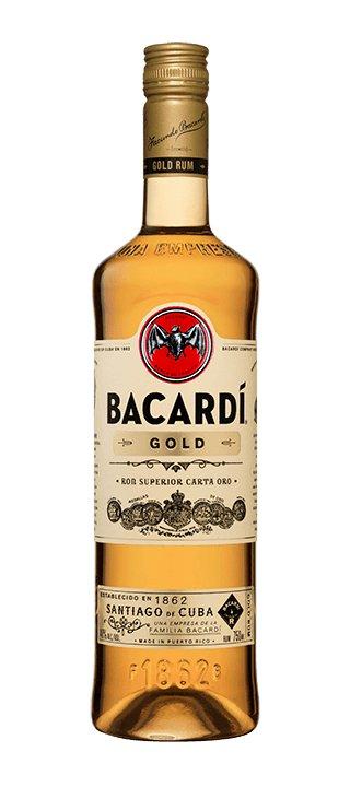 BACARDI GOLD RUM 1.75 LITER
