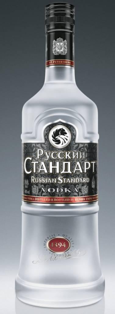 RUSSIAN STANDARD VODKA LITER
