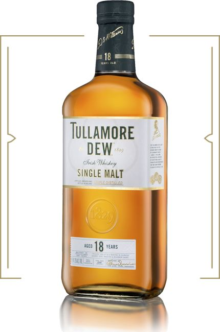 TULLAMORE DEW 18 YEAR IRISH WHISKEY 750ML
