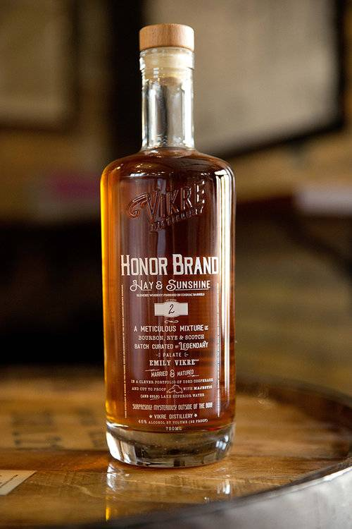 VIKRE HONOR BRAND WHISKEY 750ML
