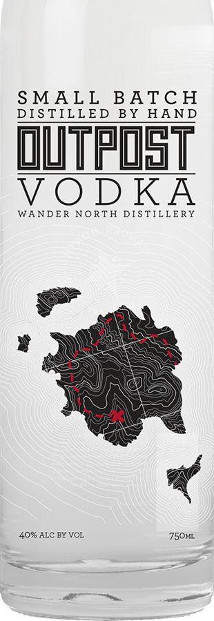 WANDER NORTH VODKA 1.75 LITER