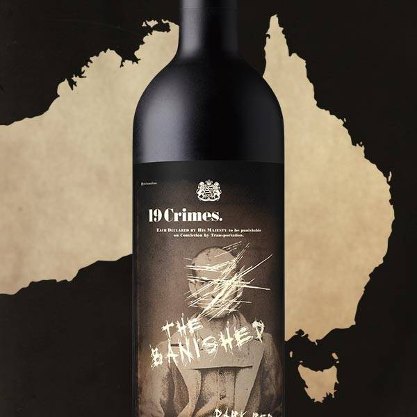 19 CRIMES THE BANISHED DARK RED BLEND 750ML