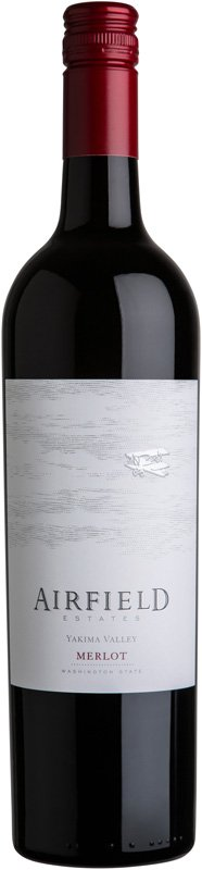 AIRFIELD MERLOT 750ML
