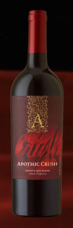 APOTHIC CRUSH RED 750ML